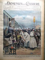 La Domenica Del Corriere 3 Luglio 1938 Cecoslovacchia Duce In Romagna Corazzata - Autres