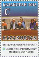 Kazakhstan Kasachstan MNH** 2018 Kazakhstan In The UN Security Council Mi 1112 - Kasachstan