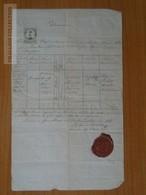 ZA174.3  Old Document - Hungary   Szentpéterfa  Petrovo Selo -Vas- Diocesis Sabariensis - Remigia BUCH -   1866 - Birth & Baptism