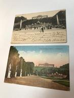 Austria Österreich Wien Vienna XIII 2 Stk Schönbrunn Palace Neptun Gloriette 0128b Post Card Postkarte POSTCARD - Vienna
