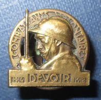 Boutonniere Combattants Volontaires 1914-1918 - 1914-18