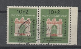 Bund , Nr 171 , Gestempeltes Paar - BRD