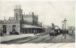 ALOST - La Gare - Binnenzicht - Train - Stoomtrein - Aalst