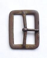 Boucle Réglementaire De Ceinturon Anglais 1 Ardillon 1914 - 1918 WW1 Tommy (2) GB - 1914-18