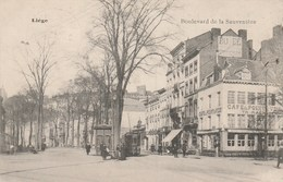 Liege;vue Trianon-Pathé Expédiée D'un Camp. - Luik