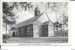 Paderborn - Eglise Catholique - Katholische Kirche Im Sennelager Bei Paderborn - Circulé - Cachet Du 6 März 1918 - 2 Sca - Paderborn