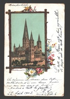 Bonn - Rheinland: Bonn, Der Dom - Stecken Bild - 1902 - Single Back - Bonn