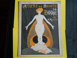L'assiette Au Beurre ,Cancatrice Par Roubille,1904 Art Nouveau - Livres, BD, Revues