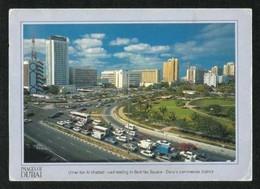 United Arab Emirates UAE Dubai Picture Postcard Umer Lbn Al Khattab Road Dubai View Card - Dubai