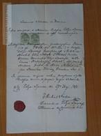 ZA174.7  Old Document - Slovakia  Zólyomlipcse  Slovenská Ľupča, Slowakisch Liptsch - Maria Amalia TREMEL - 1871 - Naissance & Baptême