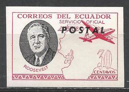 Ecuador 1949. #B (M) Roosevelt * - Equateur