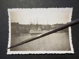 Le Havre - Photo Originale -  Vue Sur Le Bassin Du Commerce - Place Gambetta - Quai De Lamblardie 1928 - TBE - - Luoghi