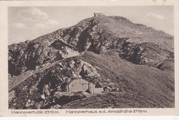Hannoverhütte Hannoverhaus Auf Der Arnoldhöhe - Ohne Zuordnung