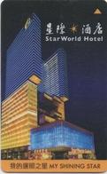Carte Clé Hôtel Avec Casino Adjoint : Star World - MACAU : Winner's Choice - Cartes D'hotel