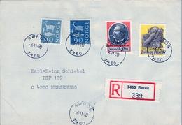 1990 , NORUEGA , SOBRE CERTIFICADO , ROROS - MERSEBURG , JOHAN SVENDSEN - Noruega