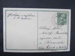 GANZSACHE Velke Petrovice U Nechanice - Sadek Policka 1911  Korrepospondenzkarte ///  D*36347 - Briefe U. Dokumente