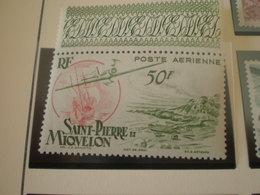 TIMBRE COLONIE FRANCAISE ST PIERRE ET MIQUELON PA  N°18 NEUF SANS CHARNIERE - Neufs