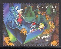 ST VINCENT - 1991 JETSONS $1 STAMP FINE USED SG1672 - St.Vincent (1979-...)