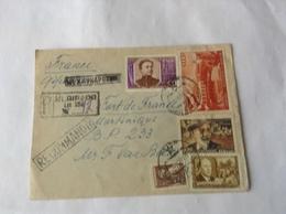 LR Klaipeda ( Memel) Pour La Martinique - Briefe U. Dokumente