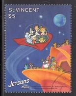 ST VINCENT - 1991 JETSONS $5 STAMP FINE USED SG1675 - St.Vincent (1979-...)