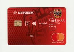 Gazprombank RUSSIA Arsenal Tula - Russian Football Club Mastercard VOID - Cartes De Crédit (expiration Min. 10 Ans)