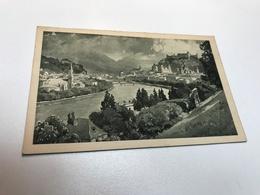 Austria Österreich Salzburg Signed Painted Art Schloss Castle 0158 Post Card Postkarte POSTCARD - Salzburg Stadt