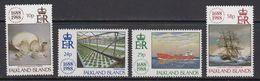 Falkland Islands 1988 Lloyds 4v ** Mnh (41725D) - Falklandeilanden