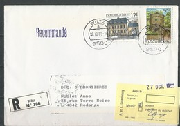 Luxembourg:  Lettre En RECOMMANDE (Absent) - Luxembourg