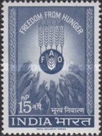 USED STAMPS  India - Freedom From Hunger - 1963 - Inde