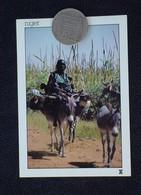 NIGER - SUR LA ROUTE ENTRE TIBIRI ET ZAZATOU * FEMME PEULH - - Niger