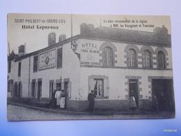 SAINT PHILBERT DE GRAND LIEU-Hotel Leparoux - Saint-Philbert-de-Grand-Lieu