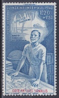 Französisch-Somaliküste Somali Coast Somalia 1942 Wohlfahrt Wohltätigkeit Welfare Spendenwoche Donation, Mi. 245 ** - Ungebraucht