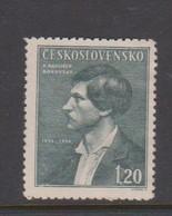 Czechoslovakia Scott 315 1946 Borovsky, Mint - Czechoslovakia