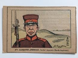 CP Militair Soldat Japan Japon Japonais Garde Imperiale Beschnitten Cut Artist Bigot - Oorlog 1914-18