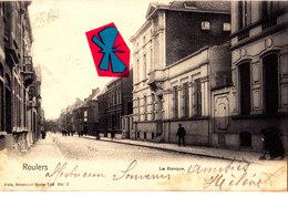 ROULERS - La Banque - Carte Circulée En 1904 - Roeselare