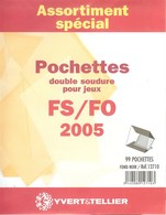Yvert Et Tellier - ASSORT. De POCHETTES FS/FO 2005 (Double Soudure) - Bandes Cristal