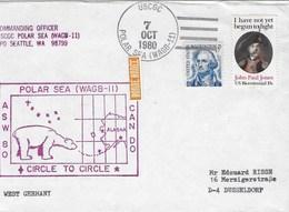POLAR SEA (WAGB-II) 7 OCT 1980 - Ross Dependency (New Zealand)