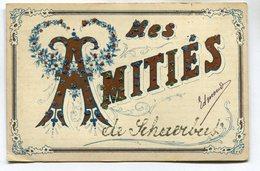 CPA - Carte Postale - Belgique - Mes Amitiés De Schaerbeek - 1908 (M6991) - Schaarbeek - Schaerbeek