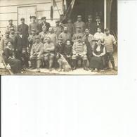 CARTE PHOTO  SOLDATS ET CIVILS - Personnages