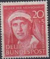 1951 Bund / W.Germany - Helfer Der Menschheit (II) - Mi 145 - E.Brändström - MNH** - Ungebraucht