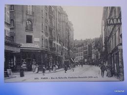 PARIS-Rue De Belleville-Fondation Rotschild - Distretto: 19
