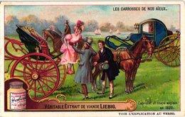 0981 - Liebig 6 Cards  C1909- Our Ancestors ' Carriages-Les Carrosses De Nos Aïeux-Diligence-Carrosse De Gala Louis XIV - Liebig