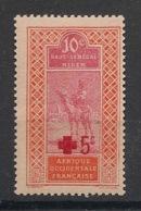 Haut-Sénégal Et Niger - 1915 - N°Yv. 35 - Croix Rouge - Neuf Luxe ** / MNH / Postfrisch - Haut-Sénégal Et Niger (1904-1921)