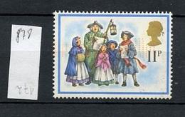 Grande Bretagne - Great Britain - Großbritannien 1978 Y&T N°878 - Michel N°779 Nsg - 11p Noël - Neufs