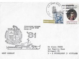 PALMER STATION ANTARCTICA  USCGC-POLAR STAR  31DEC 1980 - Oblitérés