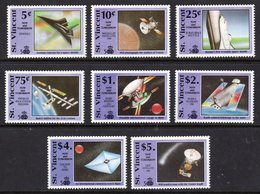 ST VINCENT - 1991 COLUMBUS ANNIVERSARY SPACE COMPLETE SET (8V) FINE MNH ** SG1677-1684 - St.Vincent (1979-...)