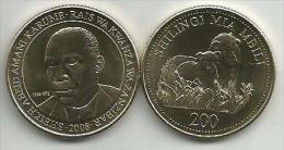 Tanzania 200 Shillings 2008. UNC - Tanzania
