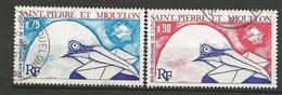 SPM N° 434 ET 435 OBL TB - St.Pierre Et Miquelon