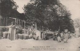 NEUVILLE SAINT WAST  GUERRE DE 1914  SORTIE DE L ARTILLRIE - France
