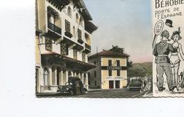 CPSM PF - Béhobie Porte De L'Espagne - Frontière Et Douaniers - Change - Poste De Douane - Voitures - Dos Vierge - - Béhobie